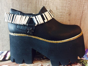 d0656b3cd6b Zapatos Plataforma Madera 2016 Botas Salta - Zapatos de Mujer en ...