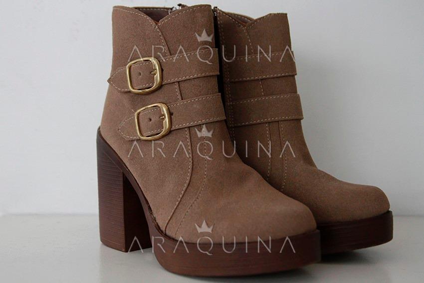 07e5842b9f0 botinetas mujer - botas hebillas moda dama - araquina. Cargando zoom.