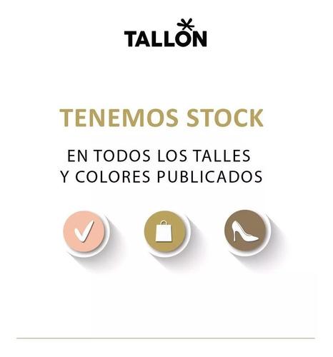 botinetas texanas bota 100% cuero art:260-1 calzados tallon