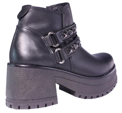 botinetas zapatos botas mujer