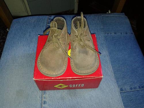 botineta/zapato unisex goffo n° 18