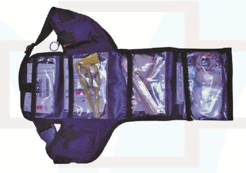 botiquin de emergencia primeros auxilios riñonera brigadista