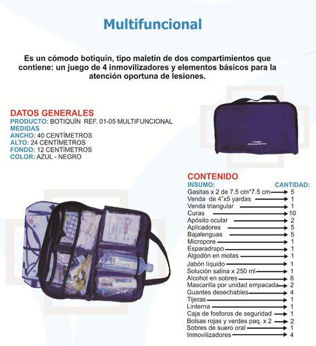 botiquin de primeros auxilios multifuncional envio gratis