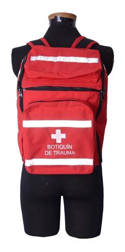 botiquin en lona portatil para primeros auxilios tipo trauma