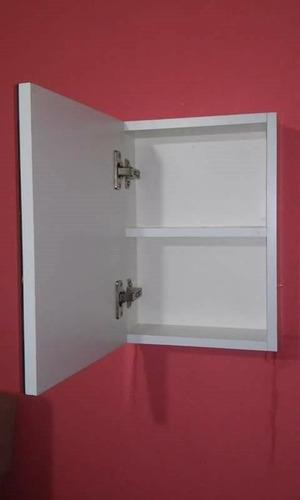 botiquin para baño con espejo 27l x 37h x 10f