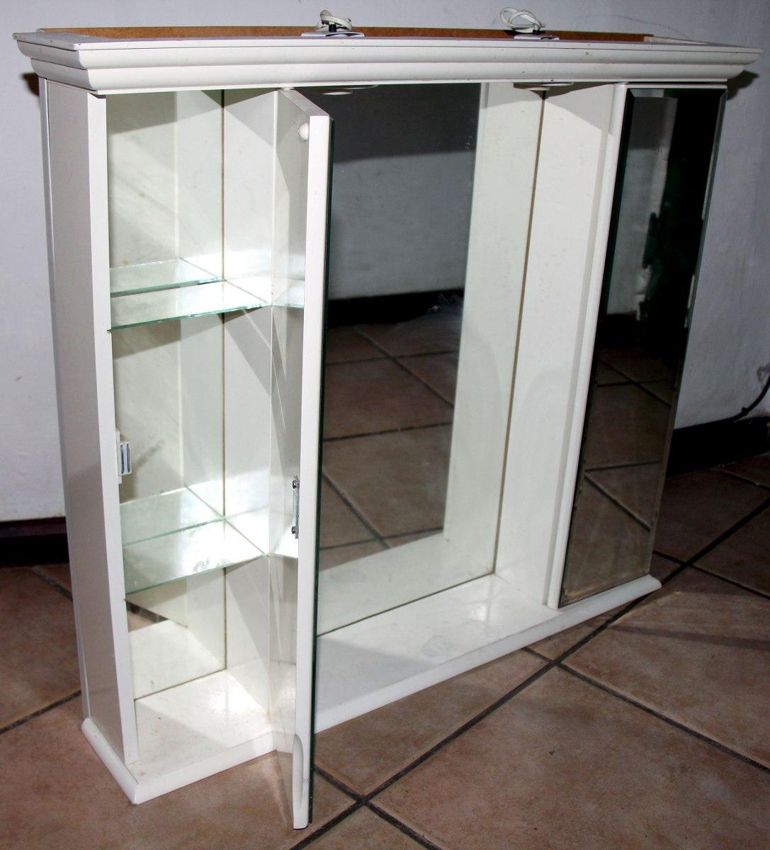 Madera para baos botiqun para bao de madera con puertas y for Mueble botiquin