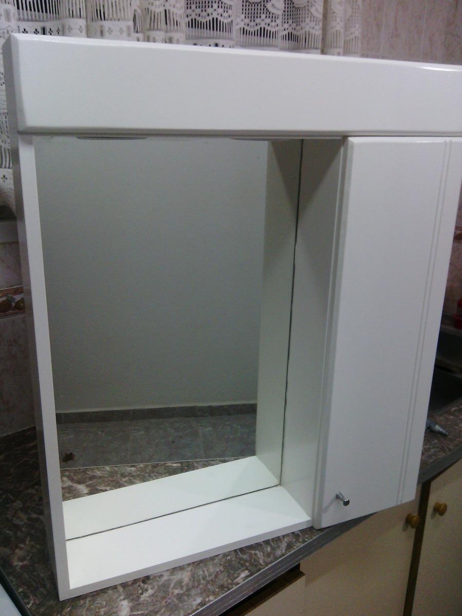 Botiquin Peinador Espejo Ba O 70 X 60 2 300 00 En Mercado Libre # Muebles Rafaela San Clemente