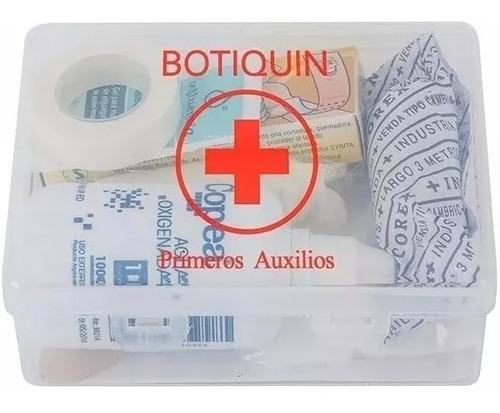 botiquín primeros auxilios 10 elementos apto vtv modelo p10