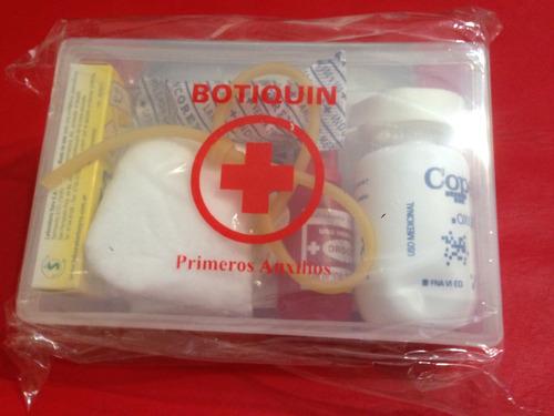 botiquín primeros auxilios pb 20 elementos calidad y precio!