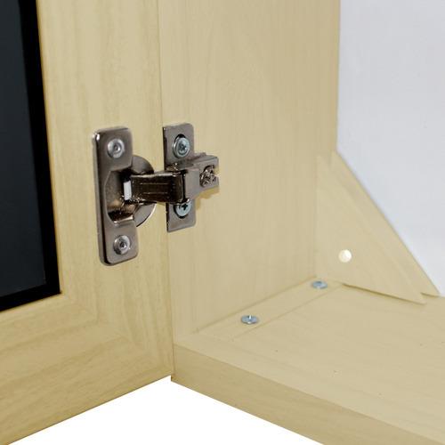 botiquines de baño de pvc beige brilloso,  2 puertas espejo