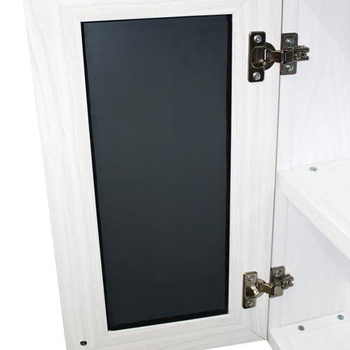 botiquines de baño de pvc con espejo, colo blanco ostion