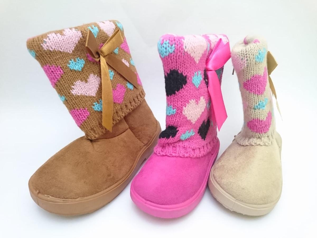 botita bota invernal invierno para niña 2 3 años  14 a 16.5. Cargando zoom. 22992af3e53fb