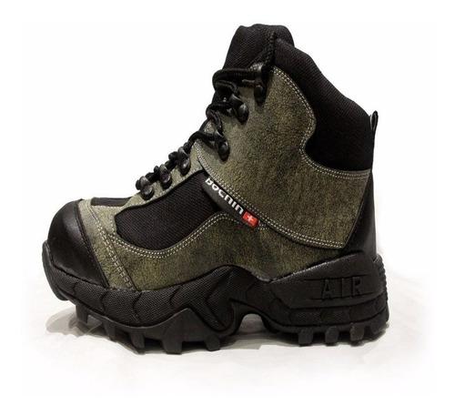 botita de seguridad bochin trabajo calzado trekking