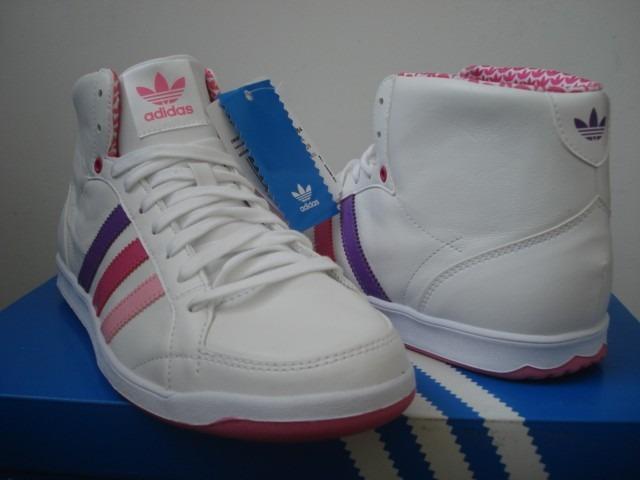 zapatillas botitas adidas adi hoop mid w