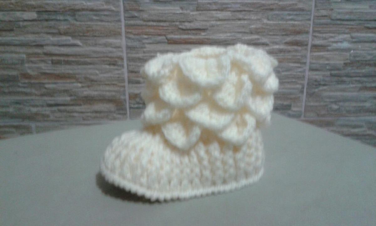 Botitas Bebé Crochet - $ 200,00 en Mercado Libre