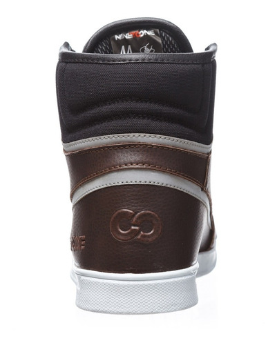 botitas con proteccion nine to one sneaker rome cuero yuhmak