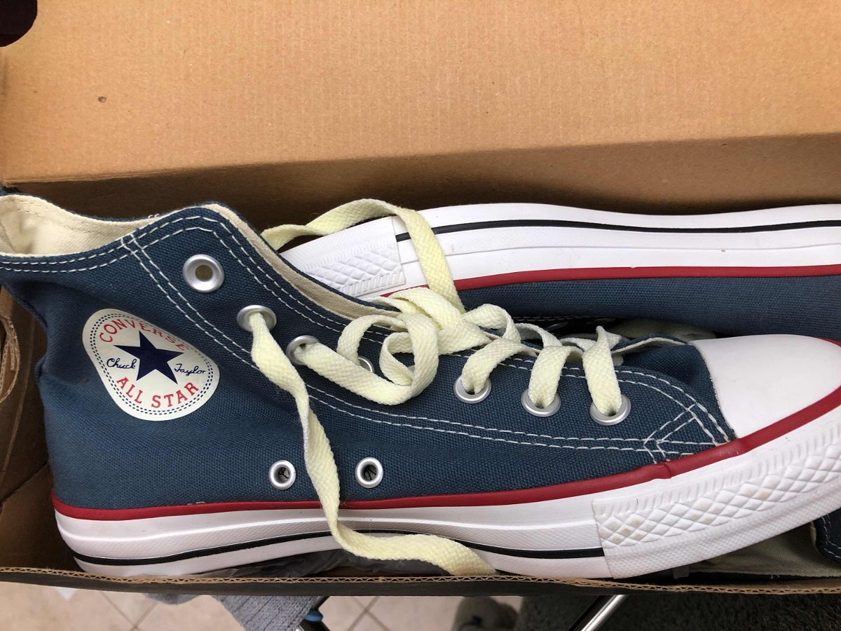 all star converse azul navy