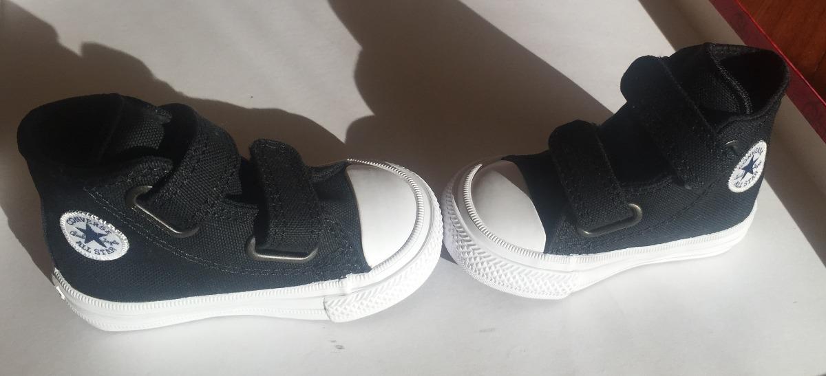 zapatillas converse negras con abrojo