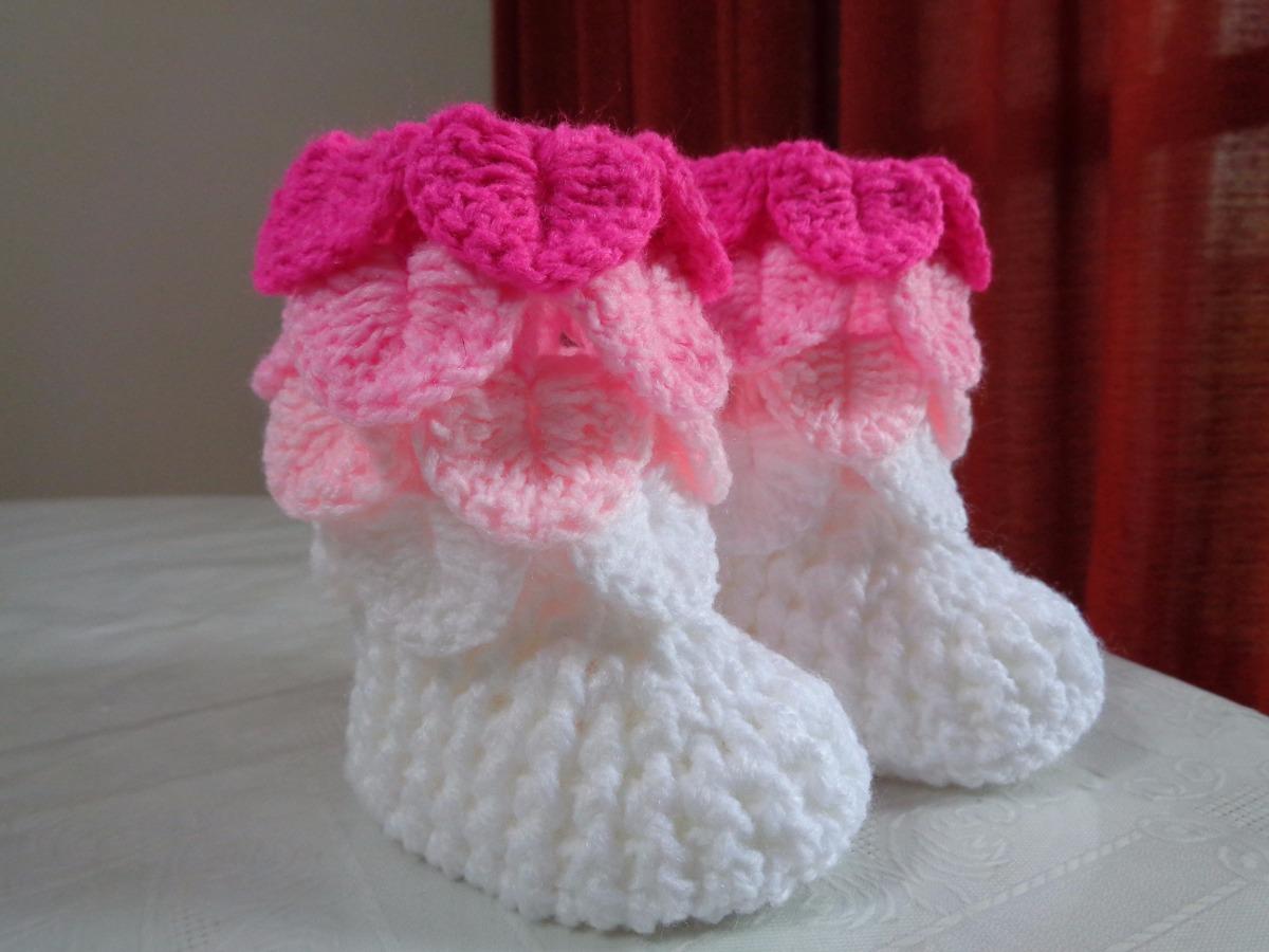 Botitas De Bebés Tejidas A Crochet - $ 150,00 en Mercado Libre
