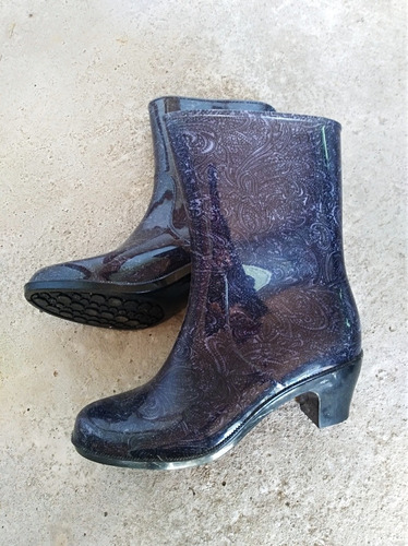 botitas de lluvia