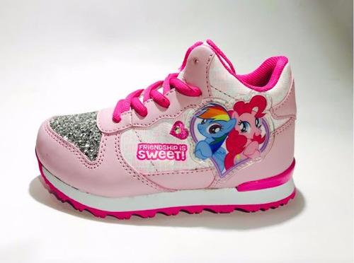 botitas my little pony con luz y glitter lpx203 c44 rv