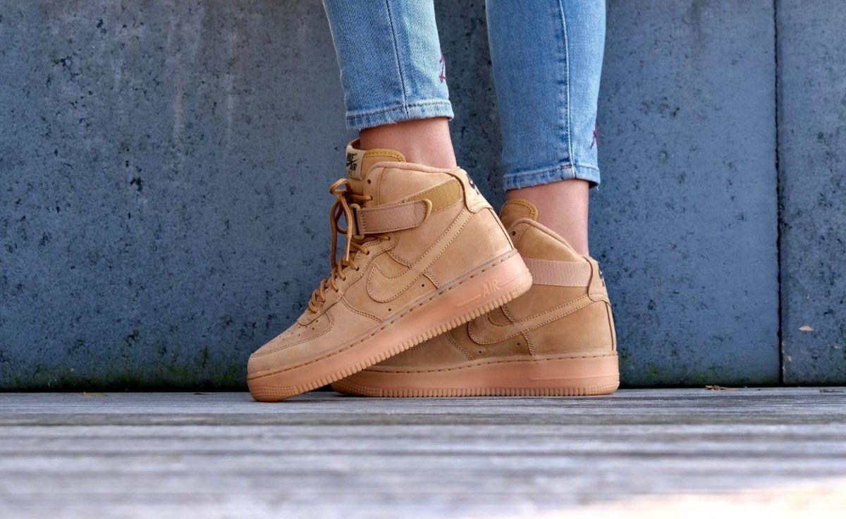Botitas Mujer Nike Air Force 1 High Wb Gs