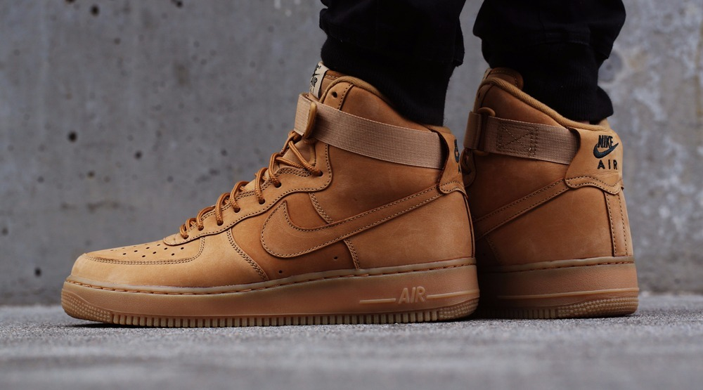 size 40 c59d0 9cd48 ... discount code for botitas nike air force 1 high wheat flax mens. cargando  zoom. ...