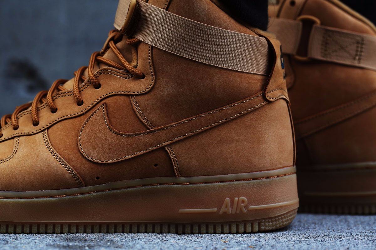 san francisco 34be2 4a144 botitas nike air force 1 high wheat flax - men s. Cargando zoom.