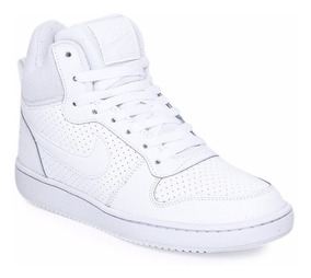 zapatillas nike mujer blancas botitas