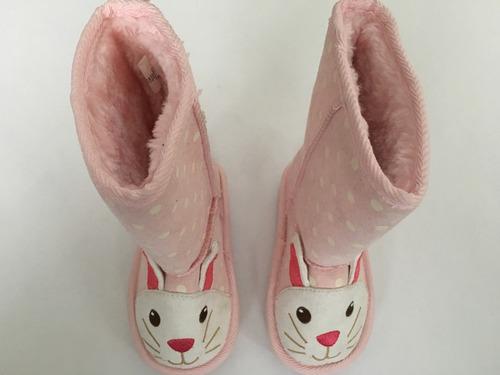 botitas old navy originales nena talle 19 conejos