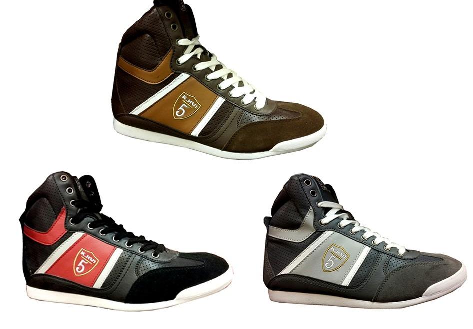 f425c99d99c5b Botitas Tipo Jordan K Hui Original De Cuero Y Gamusa -   2.000
