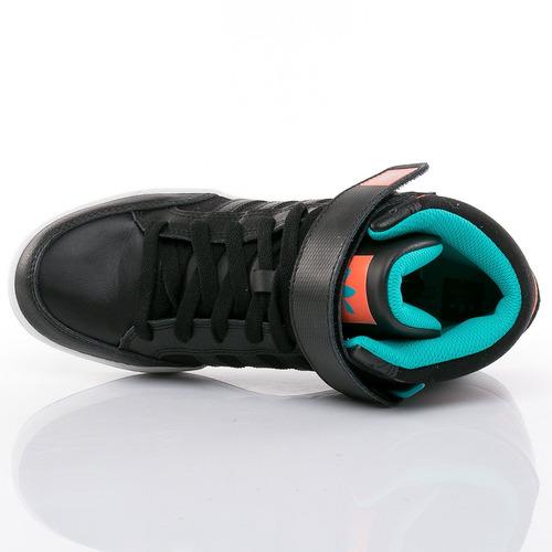 botitas varial mid black adidas sport 78