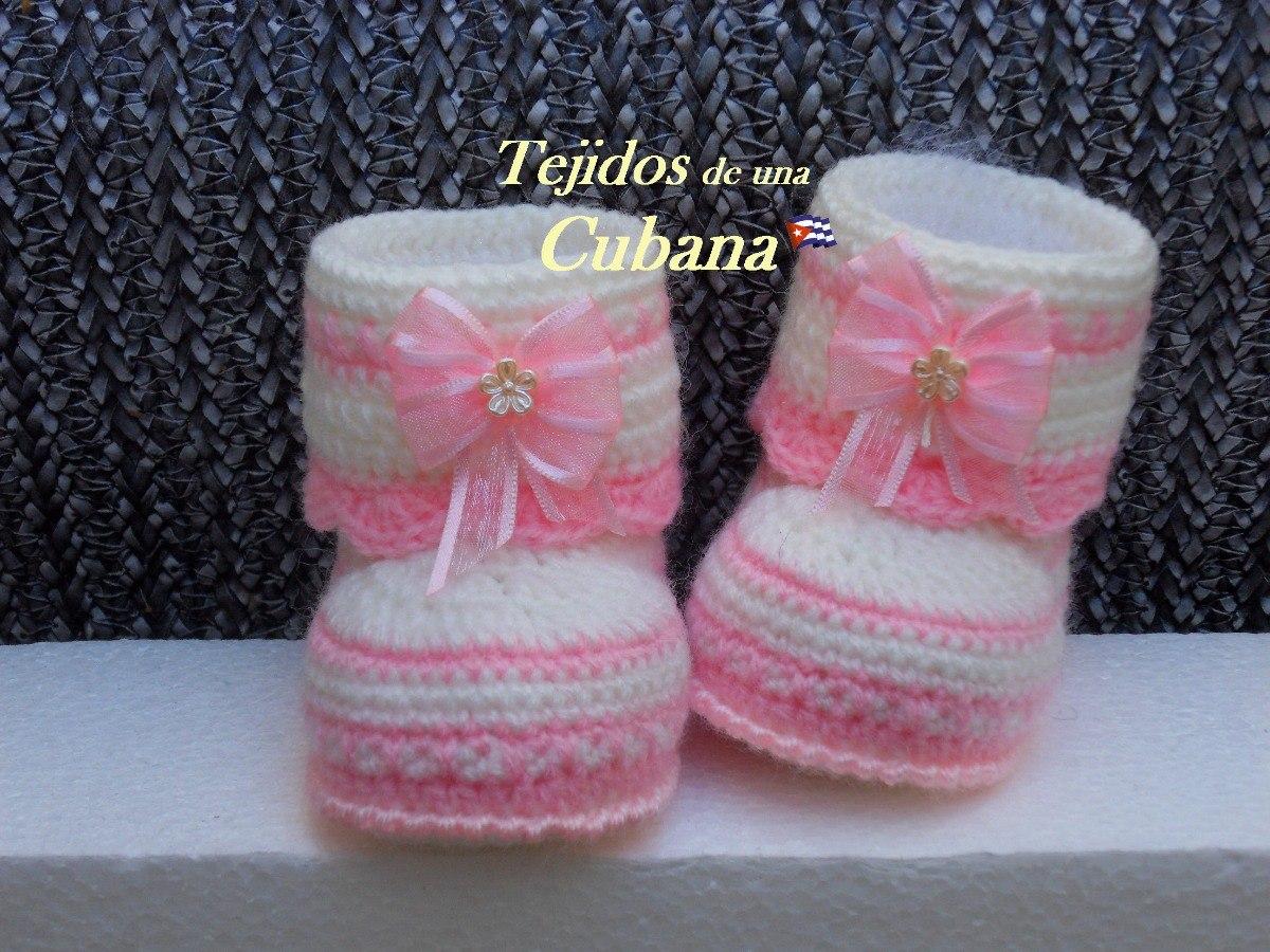 2ed3f0d7 Botitas Y/o Escarpines Para Bebés Recién Nacidos - $ 250,00 en ...