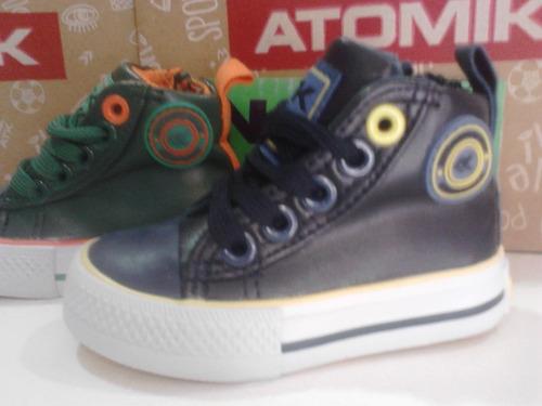 botitas zapatillas atomik