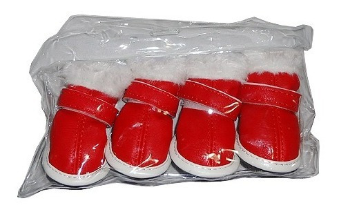 botitas zapatos perro raza pequeña invierno