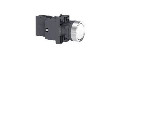 botão 22mm plástico iluminado led 24