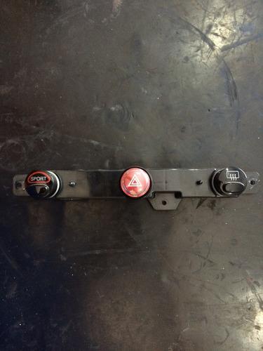 botão alerta,sport, cibié e neblina fiat 500 2013 original