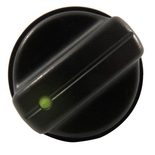 botão ar ventilação painel palio 96 a 04 led verde