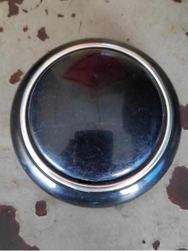 botão buzina kombi antiga fusca alemão preto novo zero negro