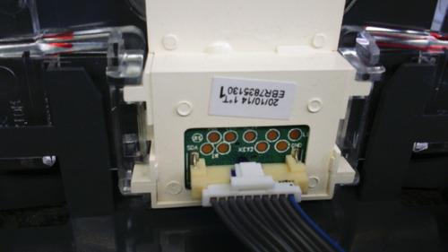 botão com sensor tv lg 42ly340h