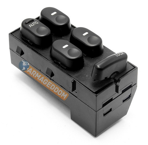 botão comando interruptor vidro eletrico gm corsa 4 portas