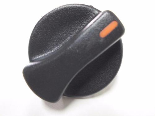 botão de ar ventilador gol parati saveiro g2 vermelho 3 peça