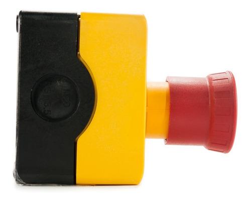botão de emergência nr12 pbw1y-gm12v03 1na + 2nf weg