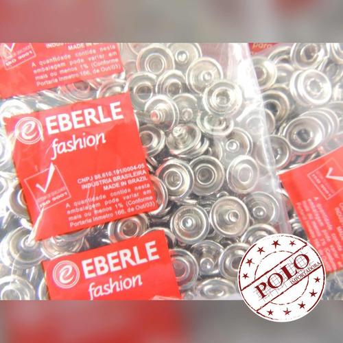 botão de pressão eberle - tictac 35 + matriz (200 unidades)