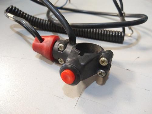 botão de segurança mini moto quadriciclo buggy