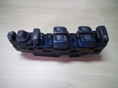 botão de vidro dianteiro esquerdo s40 01 à 04