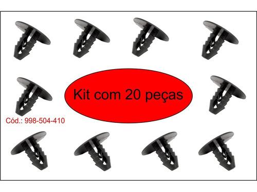 botão do teto preto fiat ducato/gol/parati/saveiro 20 peças