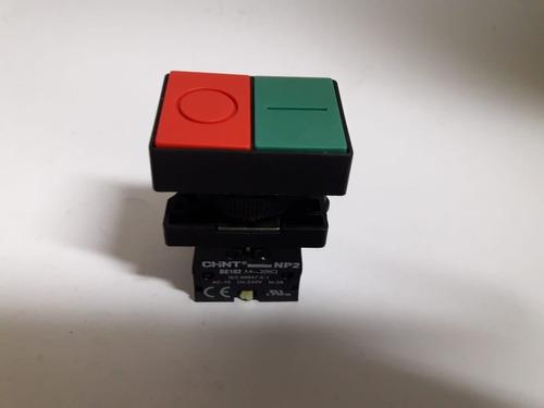 botão duplo comando plastico l/d 1na/1nf np2 el8325