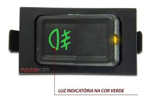 botão farol milha gol parati voyage 87/94