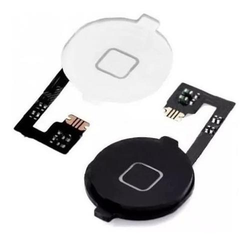 botão home + cabo flex iphone 4
